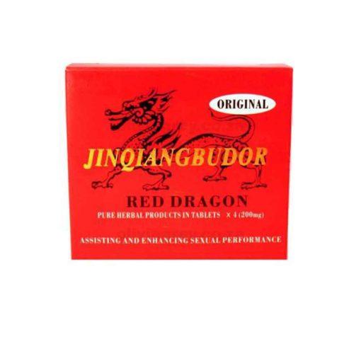 Red Dragon Erection Pill Box   Jinglangbudor