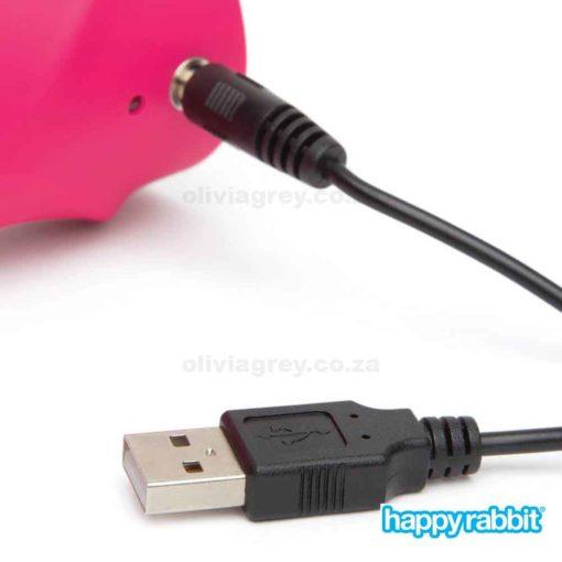 G-Spot Rechargeable Rabbit Vibrator Charger | Happy Rabbit