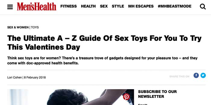 The Ultimate A – Z Guide Of Sex Toys