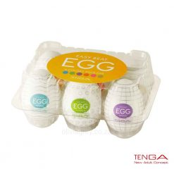 Egg Male Masturbator 6 Pack Tenga Box
