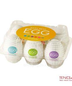Egg Male Masturbator 6 Pack Tenga Box
