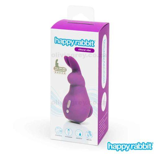 Mini Ears Rechargeable Clitoral Vibrator | Happy Rabbit Box