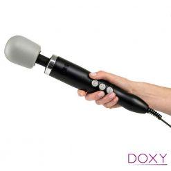 Doxy Wand Massager Black Hand