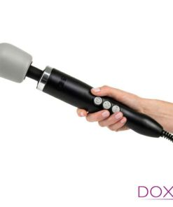 Doxy Wand Massager Black Hand