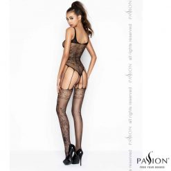 Holly Bodystocking | Passion Lingerie BS034 Back