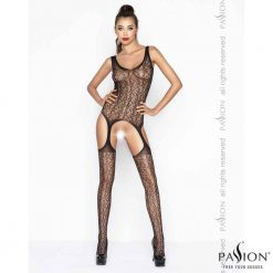 Patsy Bodystocking | Passion Lingerie BS043 Black