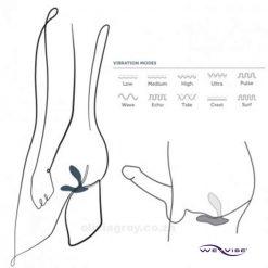 Vector Prostate Massager We-Vibe Settings