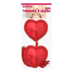 Red Heart Tassel Nipple Pasties Packet