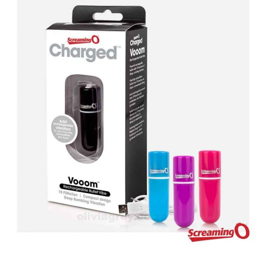 Vooom Rechargeable Bullet Vibe Box