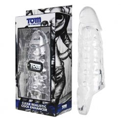 Clear Realistic Cock Enhancer Tom Of Finland Box