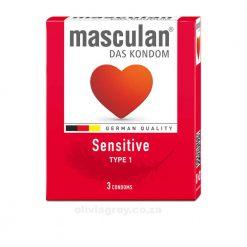 Masculan Sensitive Condoms