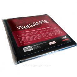 Wet Games Vinyl Bed Sheet