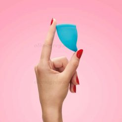 Menstrual Cup In Hand
