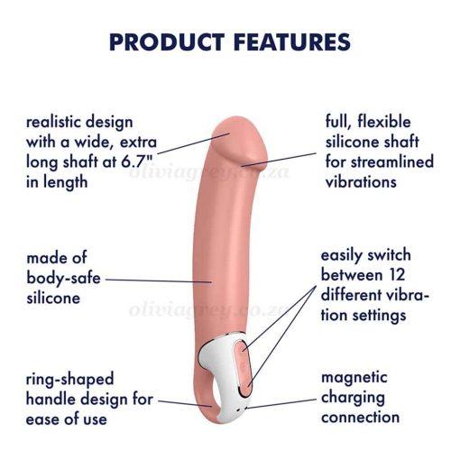 Satisfyer Master Vibrator Features