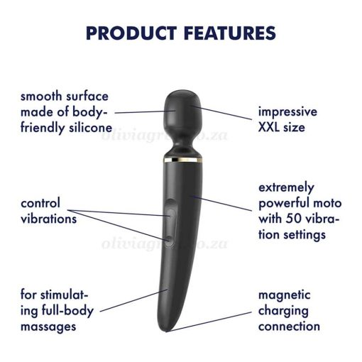 Satisfyer Wand-er Woman Features