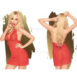 Sweet & Spicy Mini Dress Red