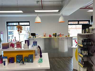 Sex Shop Interior