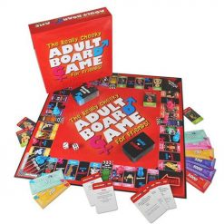 REALLY CHEEKY ADULT BOARD GAME OPEN